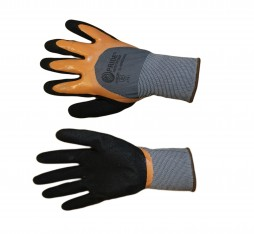 Glove, Pride, Polyester shell, Nitrile 3/4