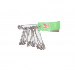 FIRST AID SAFETY PINS  QTY 12
