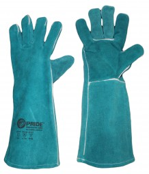 PRIDE SUPERIOR LEATHER PADDED WELDING GLOVES
